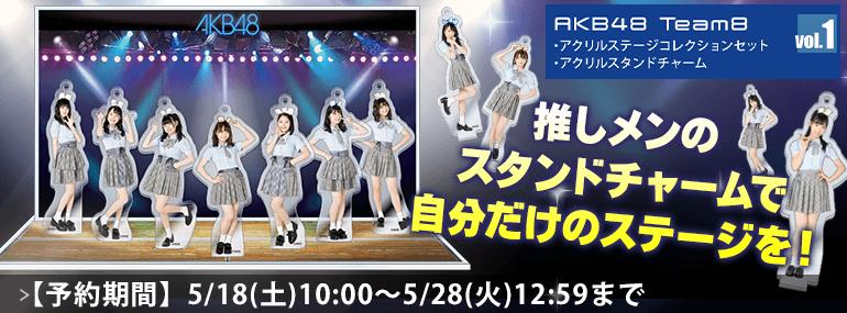 AKB48 チーム8 アクリルステージコレクションセット Vol.1