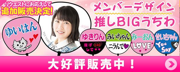 AKB48 メンバーデザイン推しBIGうちわ